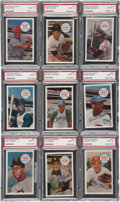 Baseball Cards:Sets, 1970 Kellogg's Baseball PSA Mint 9 Complete Set (75)....