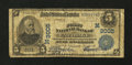 National Bank Notes:Missouri, Carthage, MO - $5 1902 Plain Back Fr. 598 The First NB Ch. #(M)3005. ...