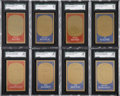 Baseball Cards:Sets, 1965 Topps Embossed Baseball Mid to High Grade Collection (198)....