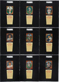 Baseball Cards:Lots, 1958 Hires Root Beer SGC-Graded Collection (36)....