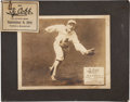 Baseball Collectibles:Others, 1914 Ty Cobb Advertising Sign, Part Two....