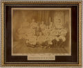 Baseball Collectibles:Photos, 1887 Indianapolis Hoosiers Large Team Photograph....
