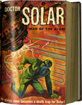 Silver Age (1956-1969):Science Fiction, Doctor Solar #1-26 Partial Issues Bound Volume (Gold Key, 1962-69)....