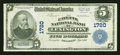 National Bank Notes:Kentucky, Lexington, KY - $5 1902 Plain Back Fr. 601 The Fayette NB Ch. #1720. ...