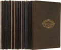 Books:Non-fiction, Memorial Addresses on the Life and Character of Charles Sumner. Washington: GPO, 1874. Octavo. 112 pages. Buckram over b... (Total: 18 Items)