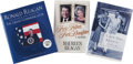 Books:Signed Editions, Ronald Reagan-Related Signed Books, including: Maureen Reagan.First Father, First Daughter. Boston: Little, Bro... (Total:3 Items)