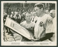 "Movie Posters:Sports, The Pride of the Yankees (RKO, 1942). Still (8"" X 10""). Sports.. ..."