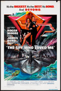 """Movie Posters:James Bond, The Spy Who Loved Me (United Artists, 1977). One Sheet (27"""" X 41"""")and Pressbook (11"""" X 17""""). James Bond.. ... (Total: 2 Items)"""