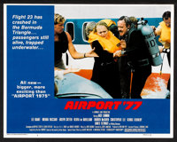 """Airport '77 (Universal, 1977). Lobby Card Set of 4 (11"""" X 14"""") and Mini Lobby Card Set of 4 (8"""" X 10""""..."""