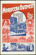 "Movie Posters:Documentary, The March of Time (20th Century Fox, 1951). One Sheet (27"" X 40""). ""Moroccan Outpost."" Documentary.. ..."