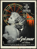"""Movie Posters:Drama, Jeanne Eagels (Columbia, 1957). French Affiche (23.5"""" X 31.5""""). Drama.. ..."""