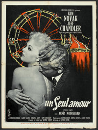"""Jeanne Eagels (Columbia, 1957). French Affiche (23.5"""" X 31.5""""). Drama"""