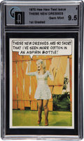 Non-Sport Cards:Singles (Post-1950), 1970 Topps Test Hee Haw #5 GAI Gem Mint 9.5. ...