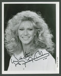 """Movie Posters:Miscellaneous, Marilyn Chambers by Ron Vogel Lot (Unknown, 1980s). Autographed Still (8"""" X 10"""") and Negatives (2) (2.5"""" X 3""""). Miscellaneou... (Total: 3 Items)"""