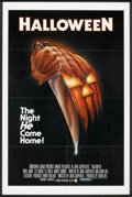 """Movie Posters:Horror, Halloween (Compass International, 1978). One Sheet (27"""" X 41"""") Blue Rating Box Style. Horror.. ..."""