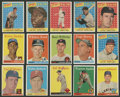Baseball Cards:Sets, 1958 Topps Baseball High-Grade Partial Set (429/594) Plus #408Variation. ...