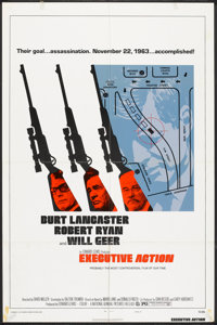 """Executive Action (National General, 1973). One Sheet (27"""" X 41"""") Style B. Thriller"""