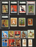 Boxing Cards:General, 1880's-1950's Vintage Boxing Complete, Near and Partial Sets (11) -An Instant Collection! ...