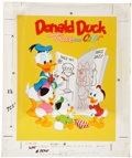 Original Comic Art:Covers, Donald Duck Trace and Color Book Cover Original Art(Whitman, 1960)....
