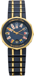 Timepieces:Wristwatch, Corum Lady's Admiral Cup Wristwatch, circa 1990's. ...