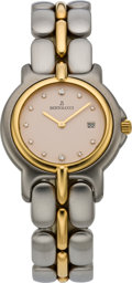 Timepieces:Wristwatch, Bertolucci Men's Diamond Dial Two Tone Pulchra, modern. ...