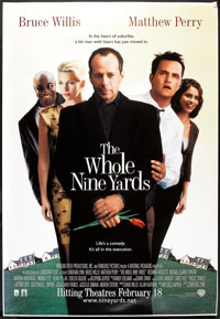 """The Whole Nine Yards Lot (Warner Brothers, 2000). Bus Shelters (2) (48"""" X 70"""") DS Advances. Comedy. ... (Total..."""