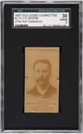 Boxing Cards:General, 1887 N174 Old Judge Prizefighters J.H. Myers SGC 30 Good 2....