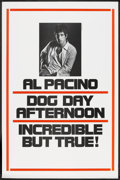 "Movie Posters:Action, Dog Day Afternoon (Warner Brothers, 1975). One Sheet (27"" X 41"").Advance. Action.. ..."