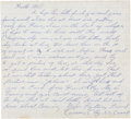 Boxing Collectibles:Autographs, August 1, 1960 Cassius Clay Handwritten Letter....