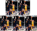 Basketball Collectibles:Others, Kobe Bryant Signed Photographs Lot of 5.... (Total: 5 items)