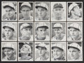 Autographs:Sports Cards, 1941 St. Louis Browns W753 Team Issue Signed Card Set from Elden Auker Collection....