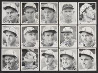 1941 St. Louis Browns W753 Team Issue Signed Card Set from Elden Auker Collection