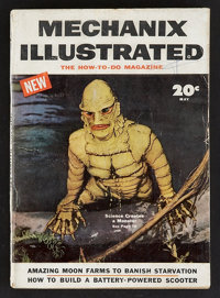 Creature From the Black Lagoon (Mechanix Illustrated, 1954). Magazine (Multiple Pages). Horror