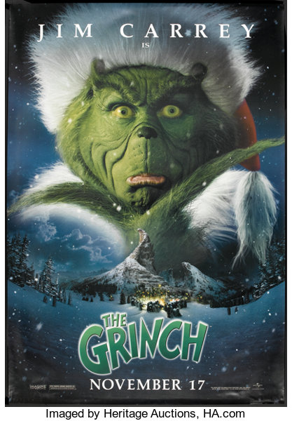 How The Grinch Stole Christmas Jim Carrey.How The Grinch Stole Christmas Universal 2000 Bus