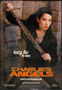 "Charlie's Angels Lot (Columbia, 2000). Bus Shelters (3) (48"" X 70"") DS Advances Lucy Liu and Regular Styles. A..."