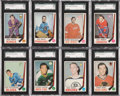 Hockey Cards:Lots, 1969-70 O-Pee-Chee Hockey SGC 96 Mint 9 or Gem 10 Collection (15Different)....