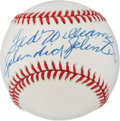 "Autographs:Baseballs, 1980's Ted Williams ""Splendid Splinter"" Single Signed Baseball...."