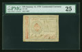 Colonial Notes:Continental Congress Issues, Continental Currency January 14, 1779 $70 PMG Very Fine 25....
