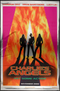 "Movie Posters:Action, Charlie's Angels Lot (Columbia, 2000). Metallic Vinyl and Regular Bus Shelters (2) (48"" X 70"") and Vinyl Banners (2) (Variou... (Total: 4 Items)"