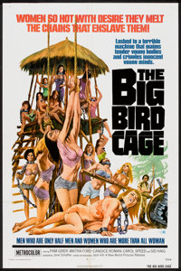 """The Big Bird Cage Lot (New World, 1972). One Sheets (2) (27"""" X 41""""). Sexploitation. ... (Total: 2 Items)"""