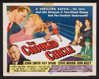 """The Crooked Circle (Republic, 1957). Lobby Card Set of 8 (11"""" X 14""""). Crime. ... (Total: 8 Items)"""