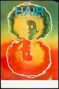 """Movie Posters:Musical, Hair (Natoma Productions, 1968). Theatrical Poster (27"""" X 41""""). Musical.. ..."""