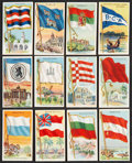 "Non-Sport Cards:Sets, 1909-11 T59 ""Flags of All Nations"" Collection of (317)...."