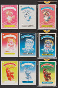 Non-Sport Cards:Lots, 1985 Topps Garbage Pail Kids Progressive Proofs Trio (3)....