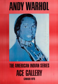 Fine Art - Work on Paper:Print, ANDY WARHOL (American, 1928-1987). The American Indian Series -Ace Gallery, 1976. Offset lithograph printed in colors o...