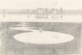 Fine Art - Work on Paper:Drawing, WAYNE THIEBAUD (American, b. 1920). Silver Landscape, 1971. Silver pencil on paper. 11-1/2 x 17-1/2 inches (29.2 x 44.5 ...