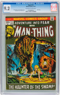 Bronze Age (1970-1979):Horror, Fear #11 (Marvel, 1972) CGC NM- 9.2 Off-white to white pages....