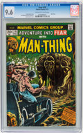 Bronze Age (1970-1979):Horror, Fear #16 (Marvel, 1973) CGC NM+ 9.6 Off-white to white pages....