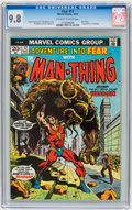 Bronze Age (1970-1979):Miscellaneous, Fear #17 (Marvel, 1973) CGC NM/MT 9.8 Off-white to white pages....