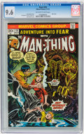 Bronze Age (1970-1979):Horror, Fear #18 (Marvel, 1973) CGC NM+ 9.6 Off-white to white pages....